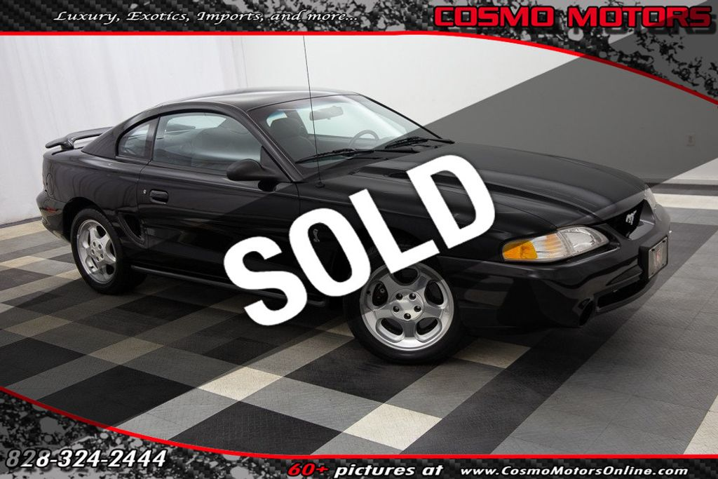 1995 Used Ford Mustang COBRA at Cosmo Motors Serving Hickory, NC, IID  19103854