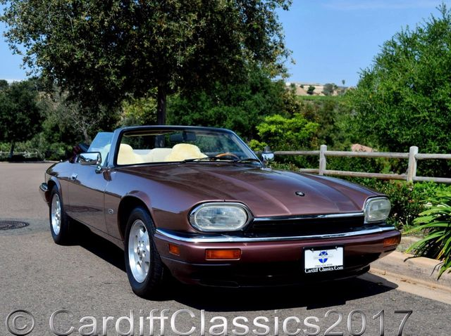 1995 Jaguar XJS 2dr Convertible 4.0L - Click to see full-size photo viewer