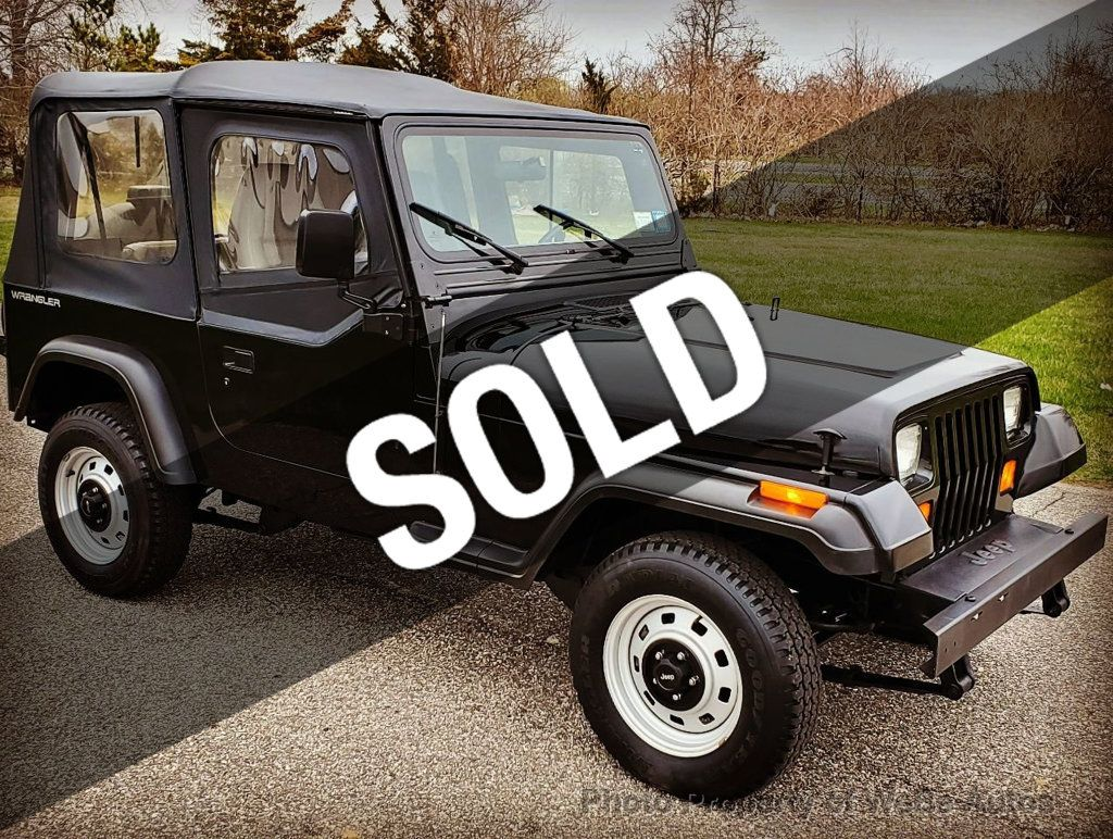 1995 Used Jeep Wrangler 2dr S at WeBe Autos Serving Long Island, NY, IID  18986045