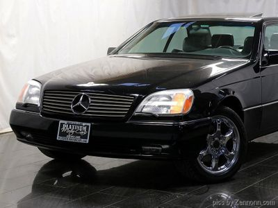 1995 Mercedes-Benz S Class S600 2dr Coupe 6.0L - Click to see full-size photo viewer