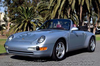 1995 Porsche 911 Carrera 2dr Cabriolet Carrera 4 Convertible