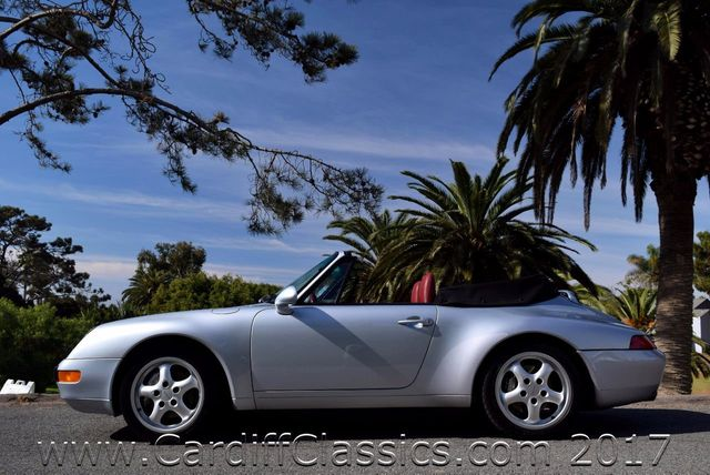 1995 Porsche 911 Carrera 2dr Cabriolet Carrera 4 - Click to see full-size photo viewer