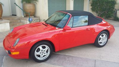 1995 Porsche 911 Carrera 911/993 Cabriolet - Click to see full-size photo viewer