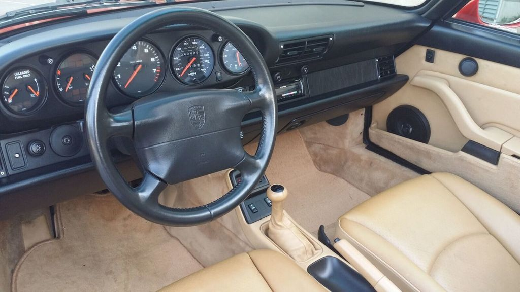 1995 Porsche 911 Carrera 911/993 Cabriolet - 17177678 - 18