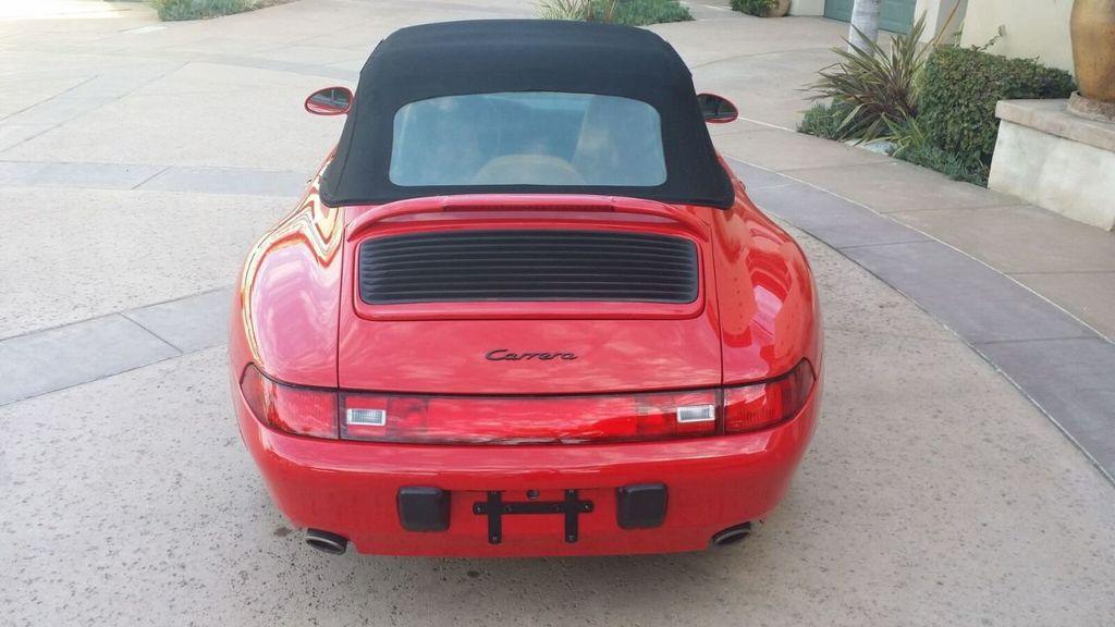 1995 Porsche 911 Carrera 911/993 Cabriolet - 17177678 - 49