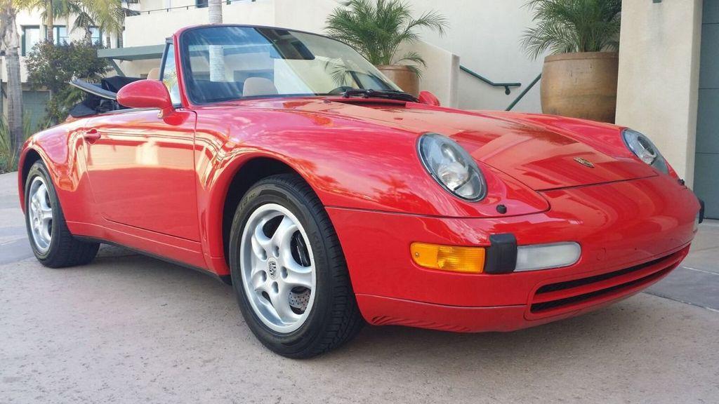 1995 Porsche 911 Carrera 911/993 Cabriolet - 17177678 - 53