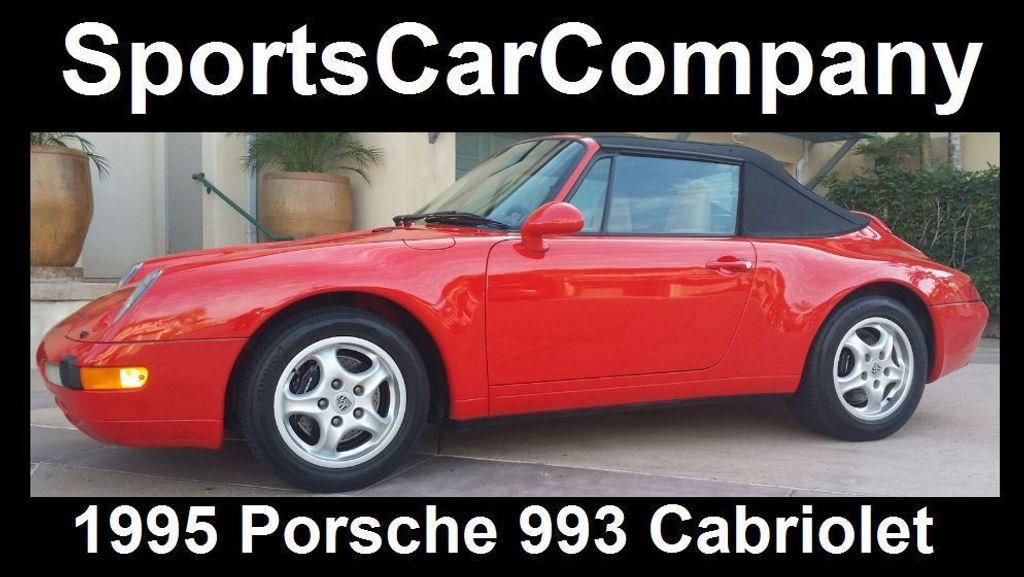 1995 Porsche 911 Carrera 911/993 Cabriolet - 17177678 - 5