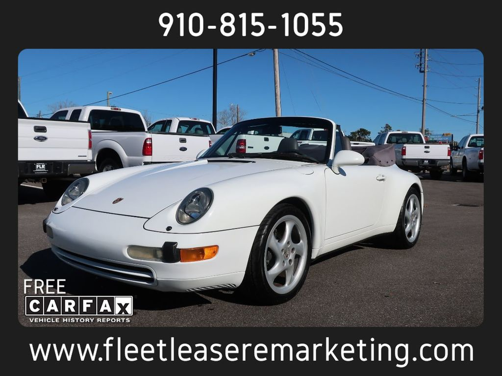 1995 Porsche 911 Carrera Carrera 2 Cabriolet 6 Speed Manual - 18464455 - 0
