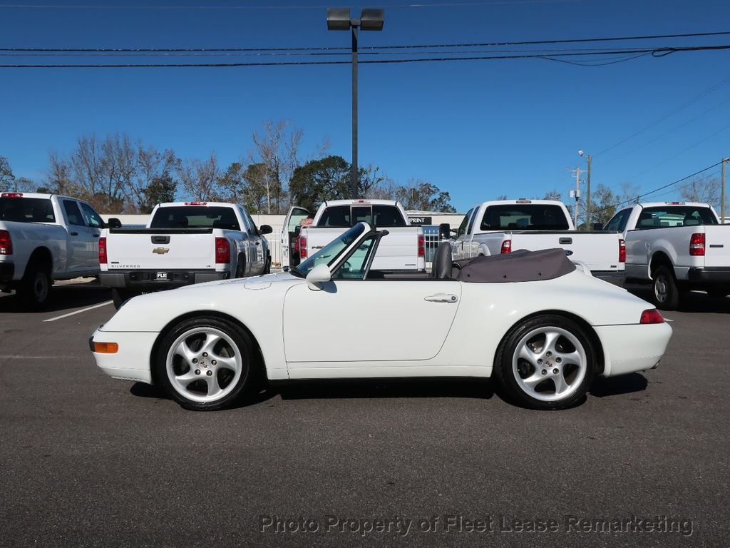 1995 Porsche 911 Carrera Carrera 2 Cabriolet 6 Speed Manual - 18464455 - 1
