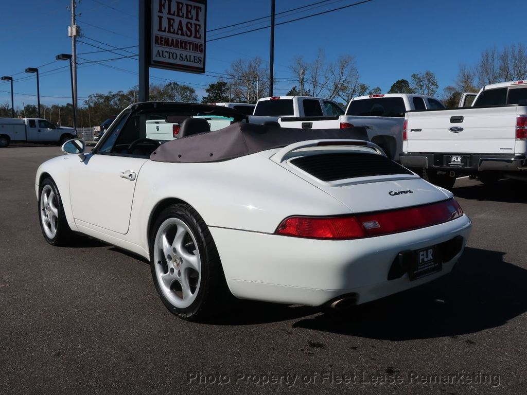 1995 Porsche 911 Carrera Carrera 2 Cabriolet 6 Speed Manual - 18464455 - 2