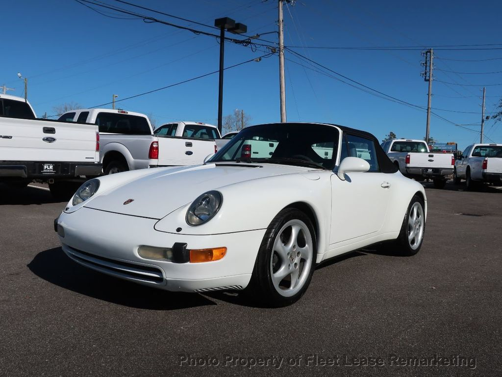1995 Porsche 911 Carrera Carrera 2 Cabriolet 6 Speed Manual - 18464455 - 43