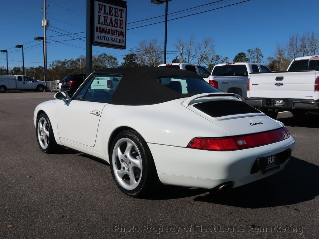 1995 Porsche 911 Carrera Carrera 2 Cabriolet 6 Speed Manual - 18464455 - 45