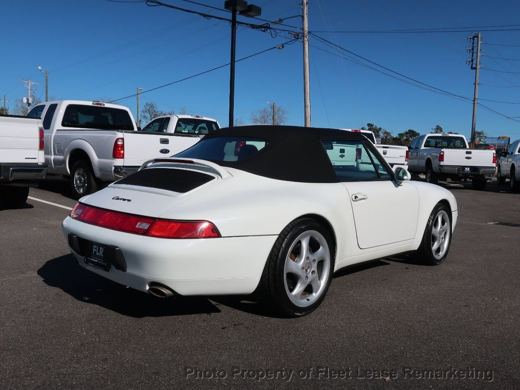 1995 Porsche 911 Carrera Carrera 2 Cabriolet 6 Speed Manual - 18464455 - 47