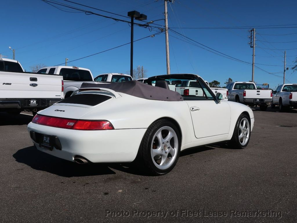 1995 Porsche 911 Carrera Carrera 2 Cabriolet 6 Speed Manual - 18464455 - 4