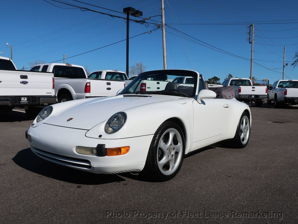 1995 Porsche 911 Carrera Carrera 2 Cabriolet 6 Speed Manual - 18464455 - 62