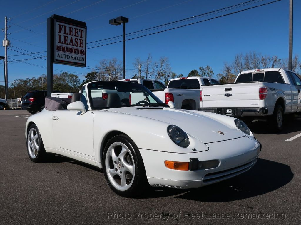 1995 Porsche 911 Carrera Carrera 2 Cabriolet 6 Speed Manual - 18464455 - 6