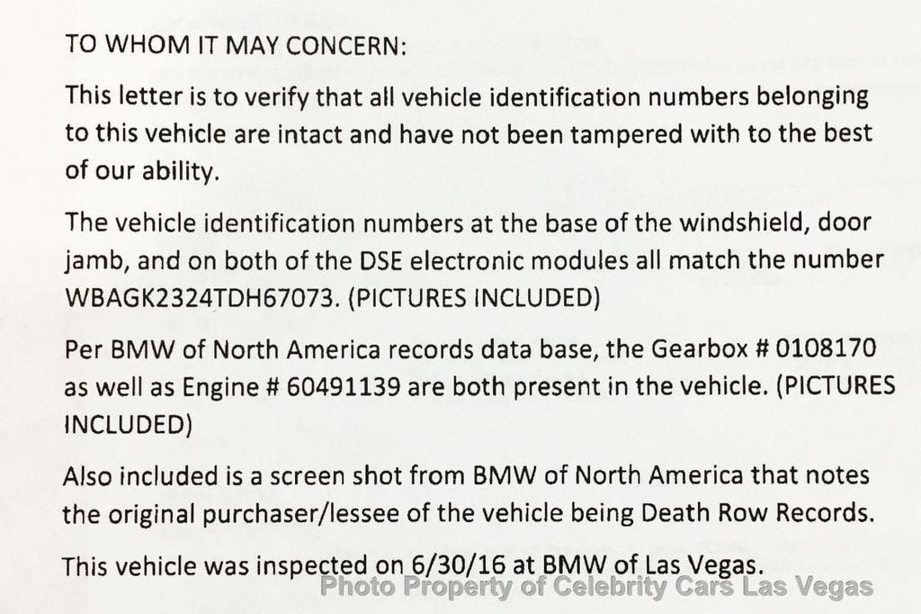 1996 BMW 7 Series Tupac Shakur  - 16762570 - 3