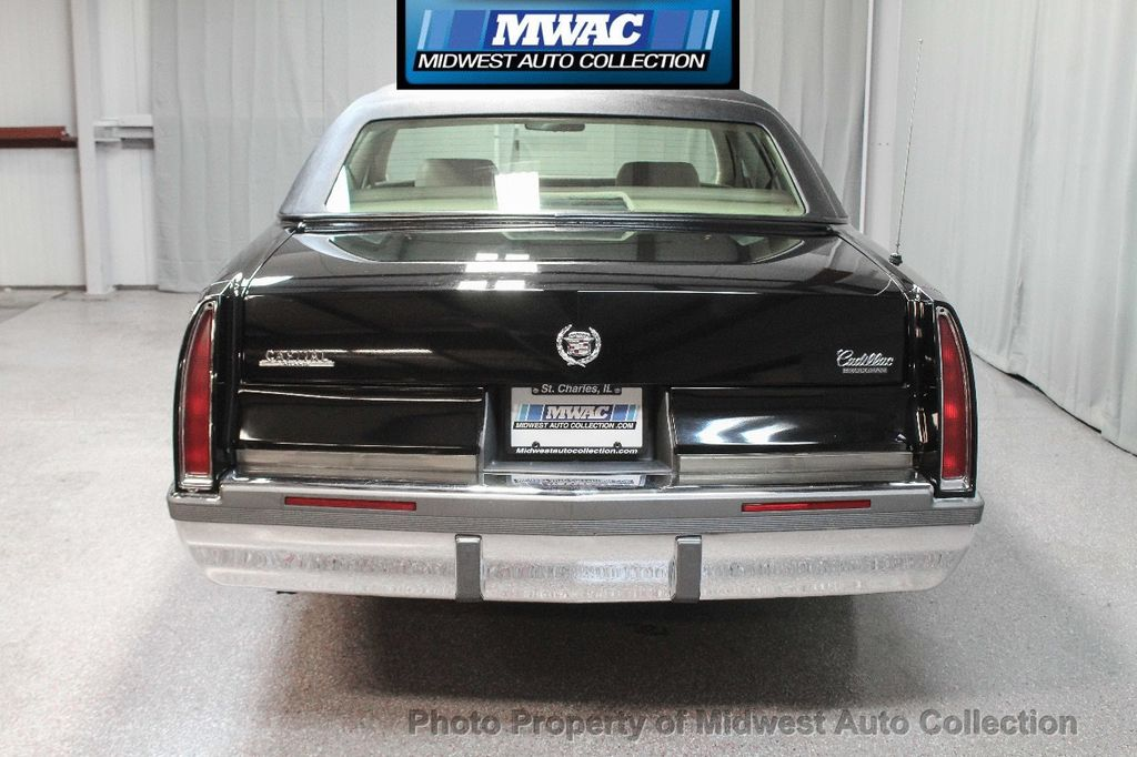 1996 Cadillac FLEETWOOD BROUGHAM RARE BLACK LAST YEAR SOUTHERN CAR ONLY 49K CLASSY VOGUE TIRES  - 17737352 - 3