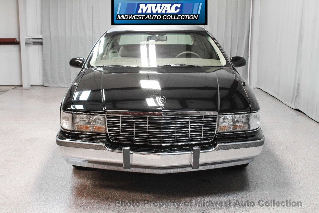 1996 Cadillac FLEETWOOD BROUGHAM RARE BLACK LAST YEAR SOUTHERN CAR ONLY 49K CLASSY VOGUE TIRES  - 17737352 - 7
