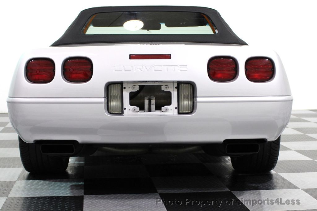 1996 Chevrolet Corvette COLLECTORS EDITION CONVERTIBLE - 16734651 - 27