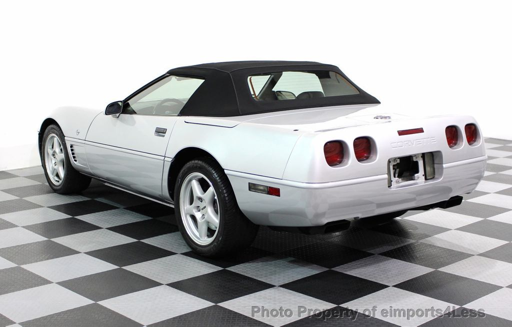 1996 Chevrolet Corvette COLLECTORS EDITION CONVERTIBLE - 16734651 - 52