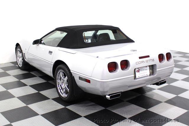 1996 Chevrolet Corvette CORVETTE 4LT Collector Edition 6 SPEED  - 18147499 - 2