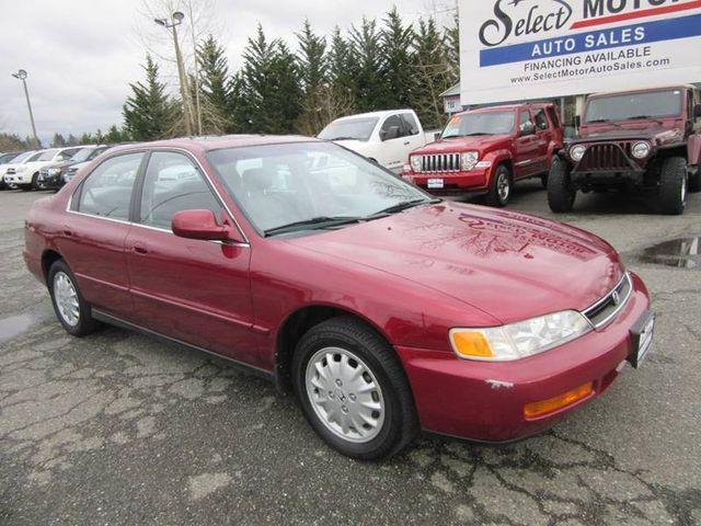 1996 Honda Accord Sedan 4dr Sedan Ex Automatic Wleather Sedan For
