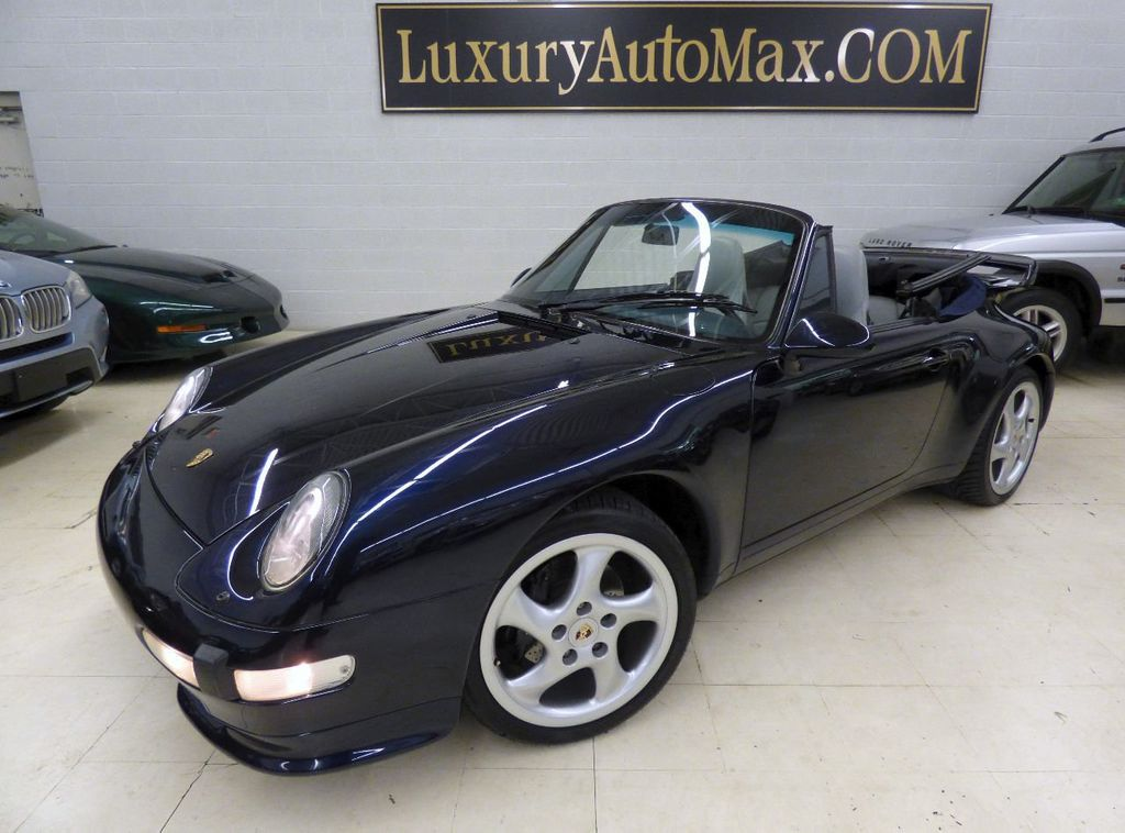 1996 Porsche 911 Carrera 2dr Carrera Cabriolet 6-Speed Manual Convertible - WP0CA2990TS340801 - 0