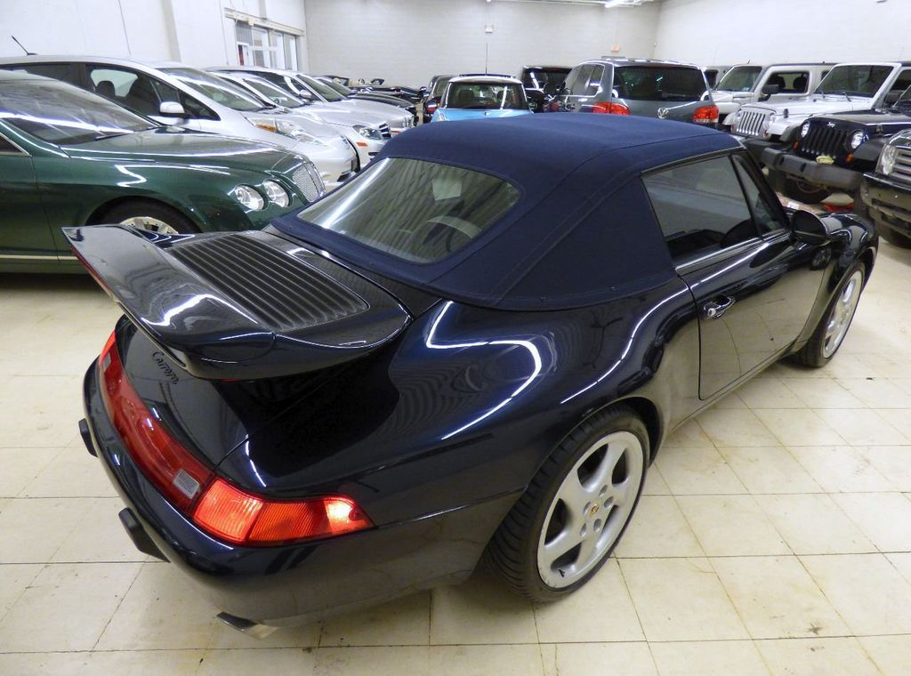 1996 Porsche 911 Carrera 2dr Carrera Cabriolet 6-Speed Manual Convertible - WP0CA2990TS340801 - 10
