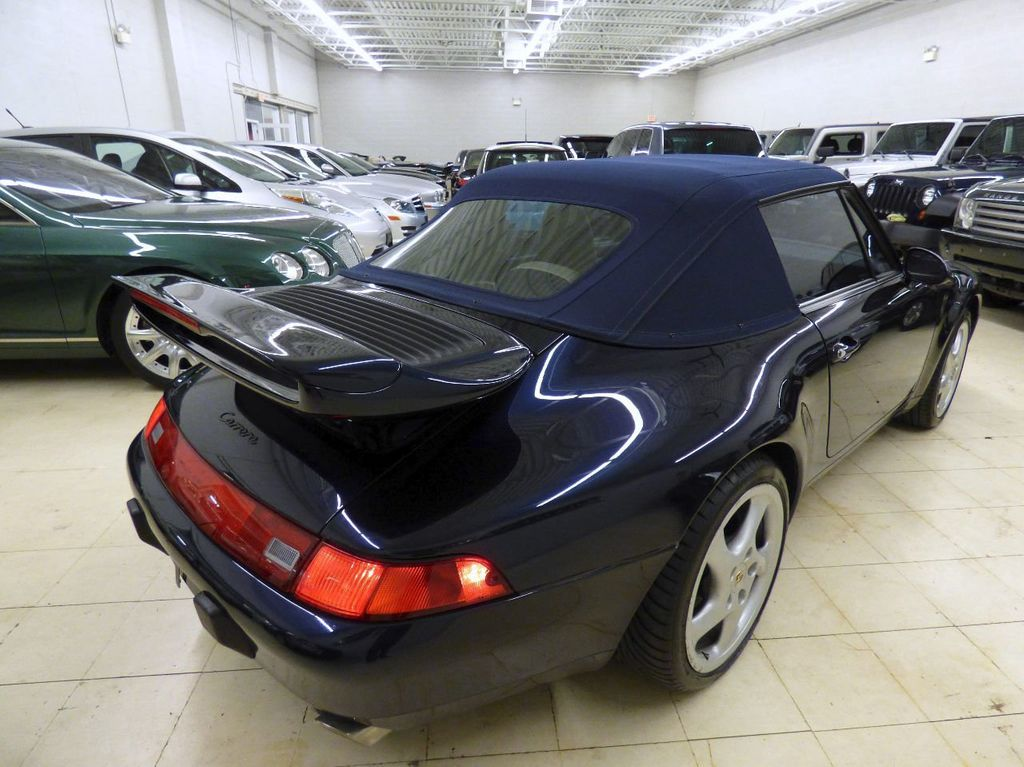 1996 Porsche 911 Carrera 2dr Carrera Cabriolet 6-Speed Manual Convertible - WP0CA2990TS340801 - 14