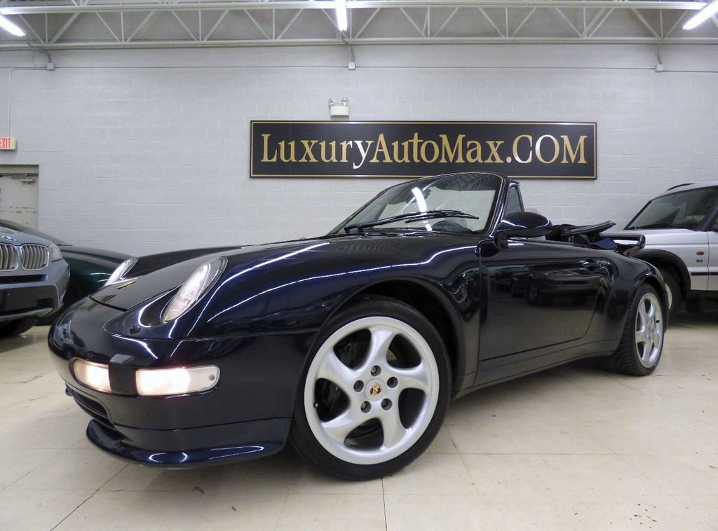 1996 Porsche 911 Carrera 2dr Carrera Cabriolet 6-Speed Manual Convertible - WP0CA2990TS340801 - 17