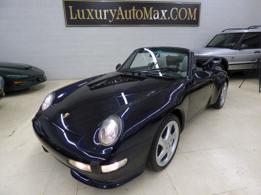 1996 Porsche 911 Carrera 2dr Carrera Cabriolet 6-Speed Manual Convertible - WP0CA2990TS340801 - 18