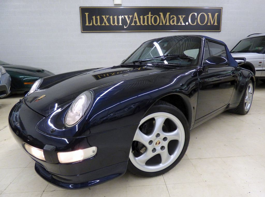 1996 Porsche 911 Carrera 2dr Carrera Cabriolet 6-Speed Manual Convertible - WP0CA2990TS340801 - 1