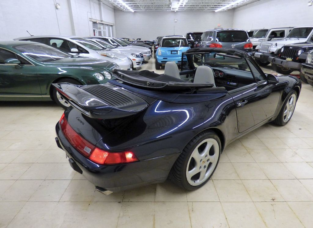 1996 Porsche 911 Carrera 2dr Carrera Cabriolet 6-Speed Manual Convertible - WP0CA2990TS340801 - 22