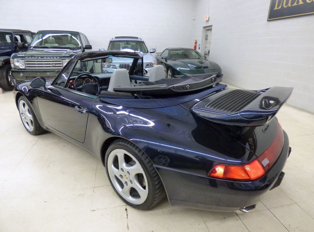 1996 Porsche 911 Carrera 2dr Carrera Cabriolet 6-Speed Manual Convertible - WP0CA2990TS340801 - 24