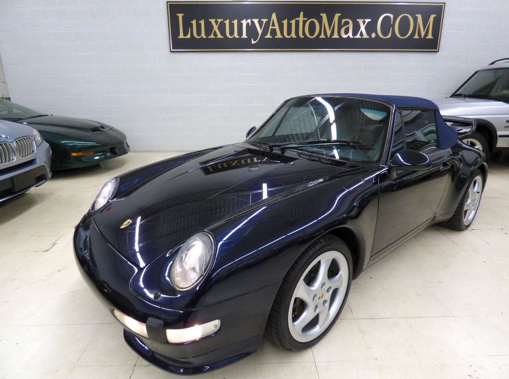 1996 Porsche 911 Carrera 2dr Carrera Cabriolet 6-Speed Manual Convertible - WP0CA2990TS340801 - 3