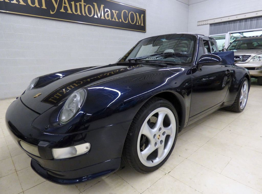 1996 Porsche 911 Carrera 2dr Carrera Cabriolet 6-Speed Manual Convertible - WP0CA2990TS340801 - 79