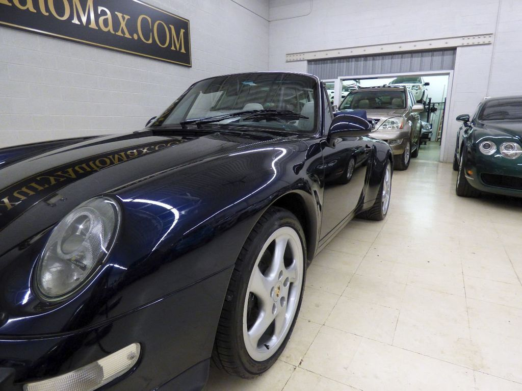 1996 Porsche 911 Carrera 2dr Carrera Cabriolet 6-Speed Manual Convertible - WP0CA2990TS340801 - 80