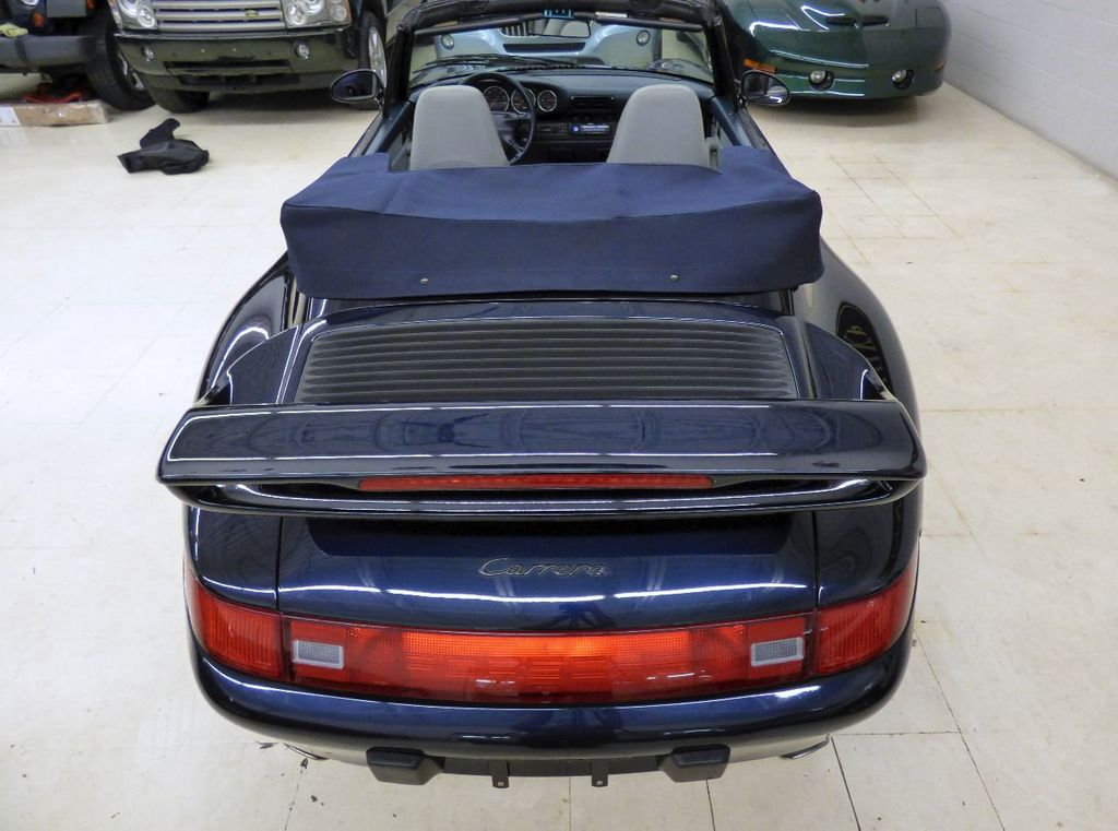 1996 Porsche 911 Carrera 2dr Carrera Cabriolet 6-Speed Manual Convertible - WP0CA2990TS340801 - 90