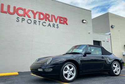 1996 Porsche 911 Carrera 2dr Carrera Cabriolet w/Tiptronic - Click to see full-size photo viewer