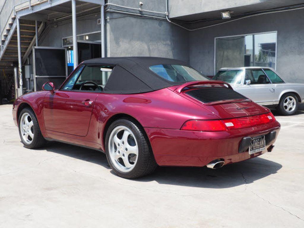 1996 Porsche 911 Carrera 2dr Carrera Cabriolet w/Tiptronic - 17505528 - 2