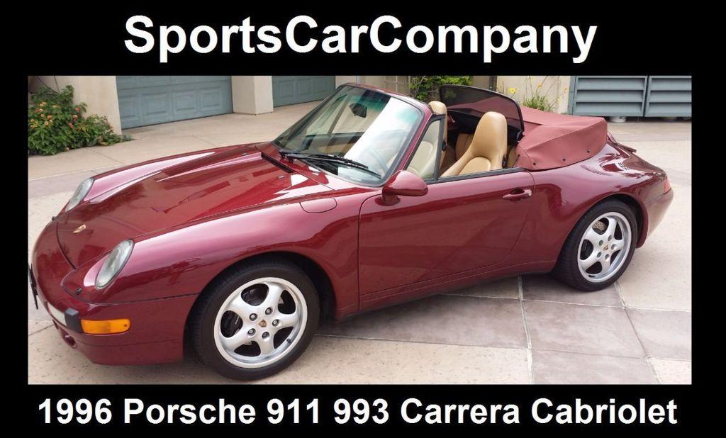 1996 Porsche 911/993 993 Carrera Cabriolet - 15313635 - 1