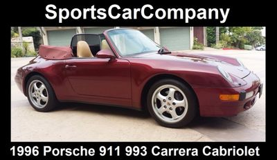 1996 Porsche 911/993 993 Carrera Cabriolet - Click to see full-size photo viewer