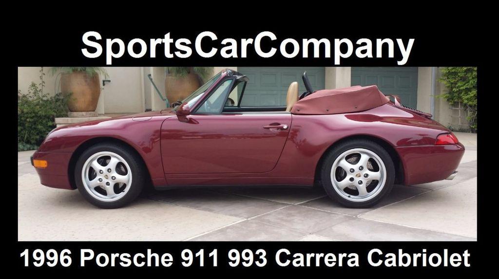 1996 Porsche 911/993 993 Carrera Cabriolet - 15313635 - 3