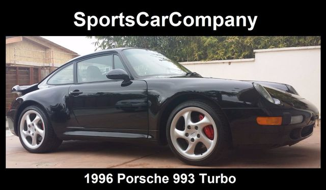 1996 Used Porsche 993 Turbo Coupe At Sports Car Company Inc