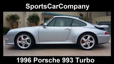 1996 Porsche 993 TURBO COUPE - WP0AC2999TS375631