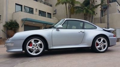 1996 Porsche 993 TURBO COUPE 993 Turbo Coupe - Click to see full-size photo viewer