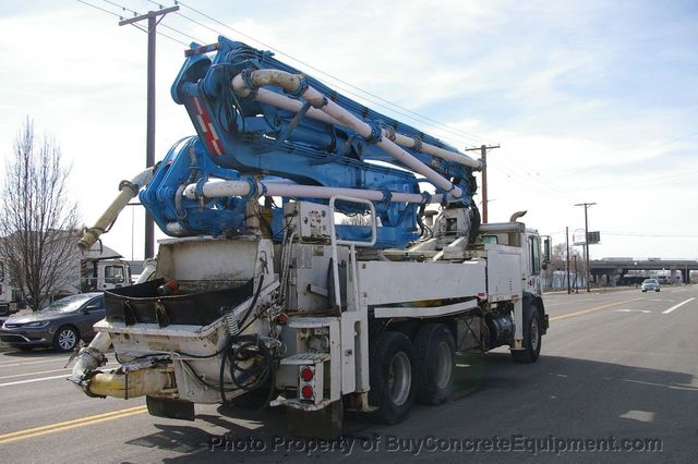 1996 Used Putzmeister 31m Mack Chassis at BuyConcreteEquipment com Serving  North America, TX, IID 17773465
