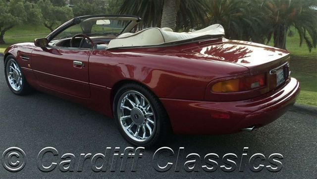 1997 used aston martin db7 volante at cardiff classics serving encinitas iid 6706525. Black Bedroom Furniture Sets. Home Design Ideas