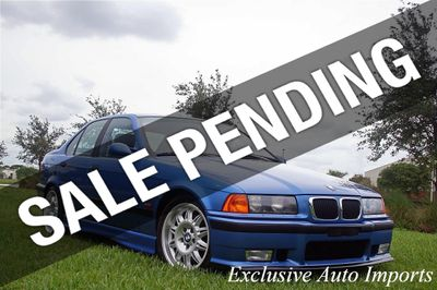1997 BMW M3 1997 BMW M3 SEDAN ESTORIL BLUE 5SP This is THE ONE! 1-OWNER!
